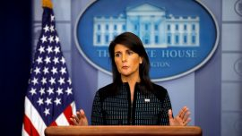 Nikki Haley Warns That Politics Is 'Reaching the Point of Hate'