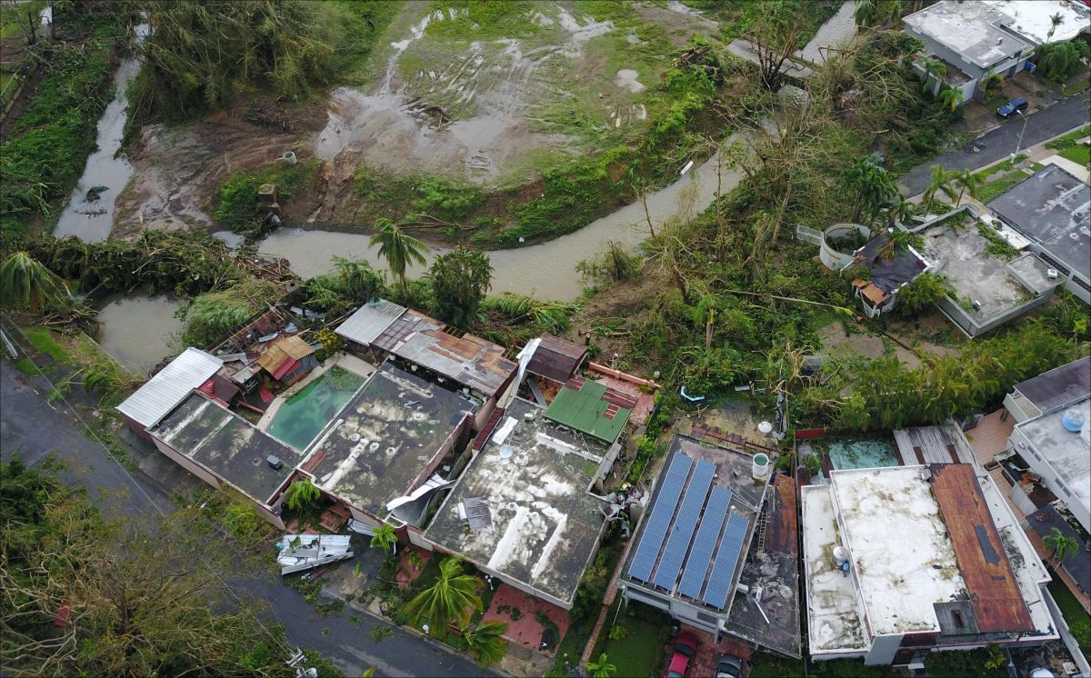 damage caused by Hurricane Maria