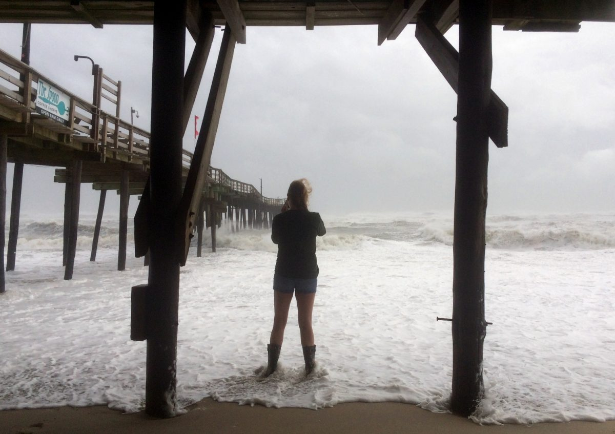 Hurricane Maria moves closer to North Carolina's Outer Banks