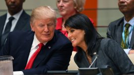 Nikki Haley Claims Tillerson, Kelly Tried to Recruit Her to 'Save the Country' by Undermining Trump