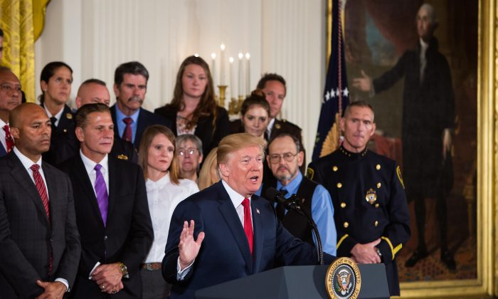 Trump Invokes Family Tragedy In Announcing Opioid Emergency Declaration