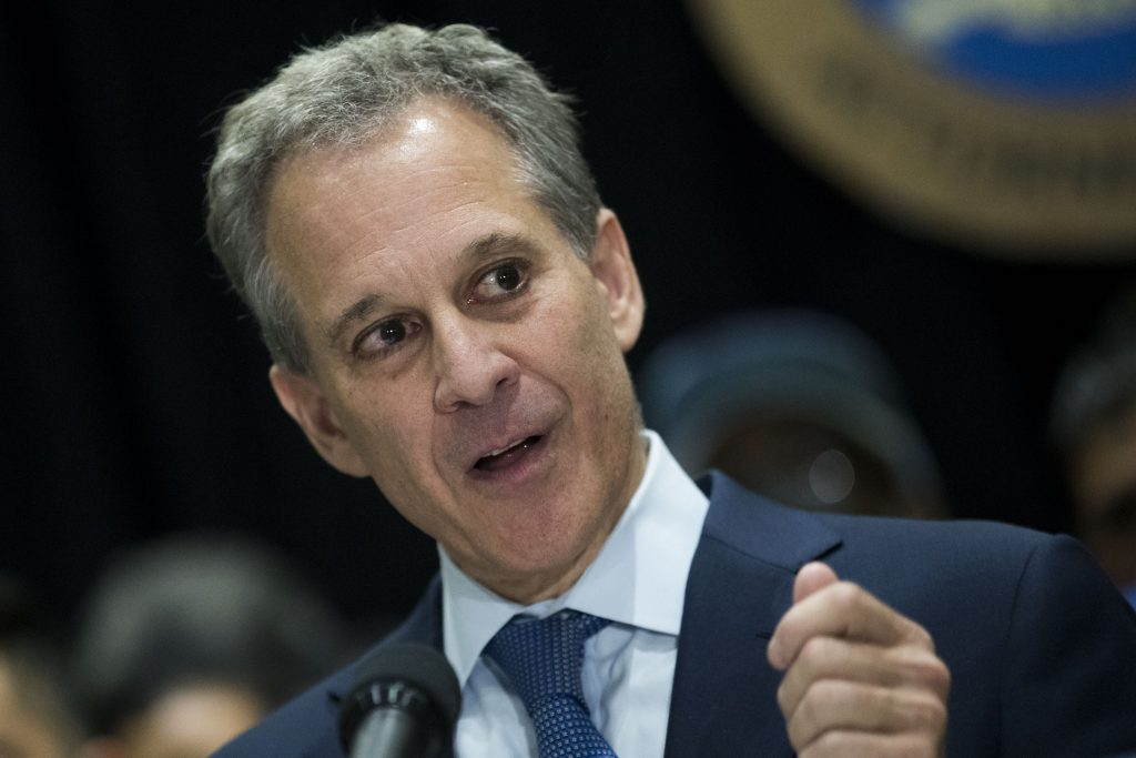 New York Attorney General Eric Schneiderman says his Civil Rights Bureau is investigating Weinstein Company. (Drew Angerer/Getty Images)