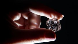 Pink Diamond That Was a French Crown Jewel to Be Auctioned