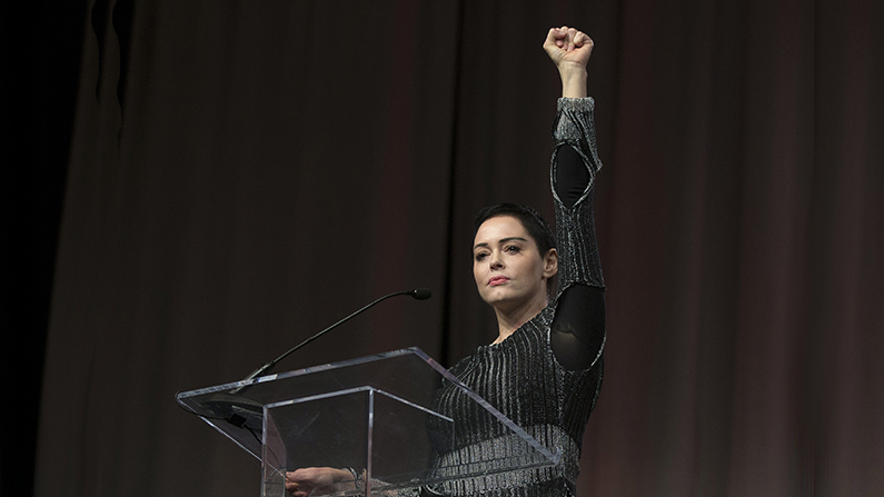 Rose McGowan Arrest Warrant Issued—Is It Intimidation?