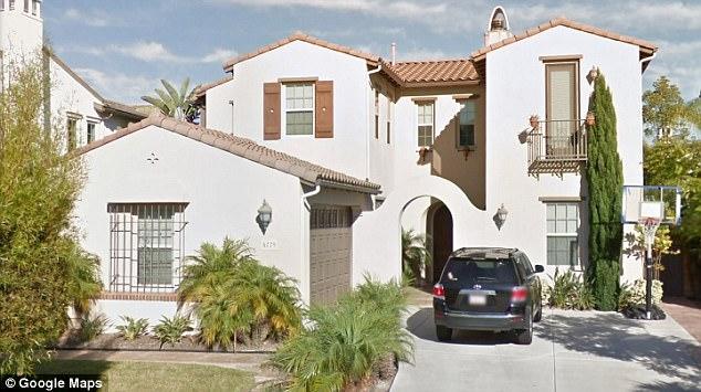 Drug Den: the $1.3 million, 4-bedroom, 3-bath Quach residence on Astor Place in Carmel Valley, Calif. (Google Maps)