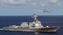US Navy Destroyer Challenges China's Expansive Claims in South China Sea