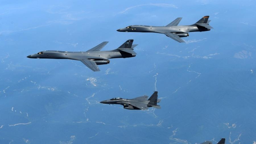 US Fighter Jets Again Intercept Russian Bombers Off Alaska