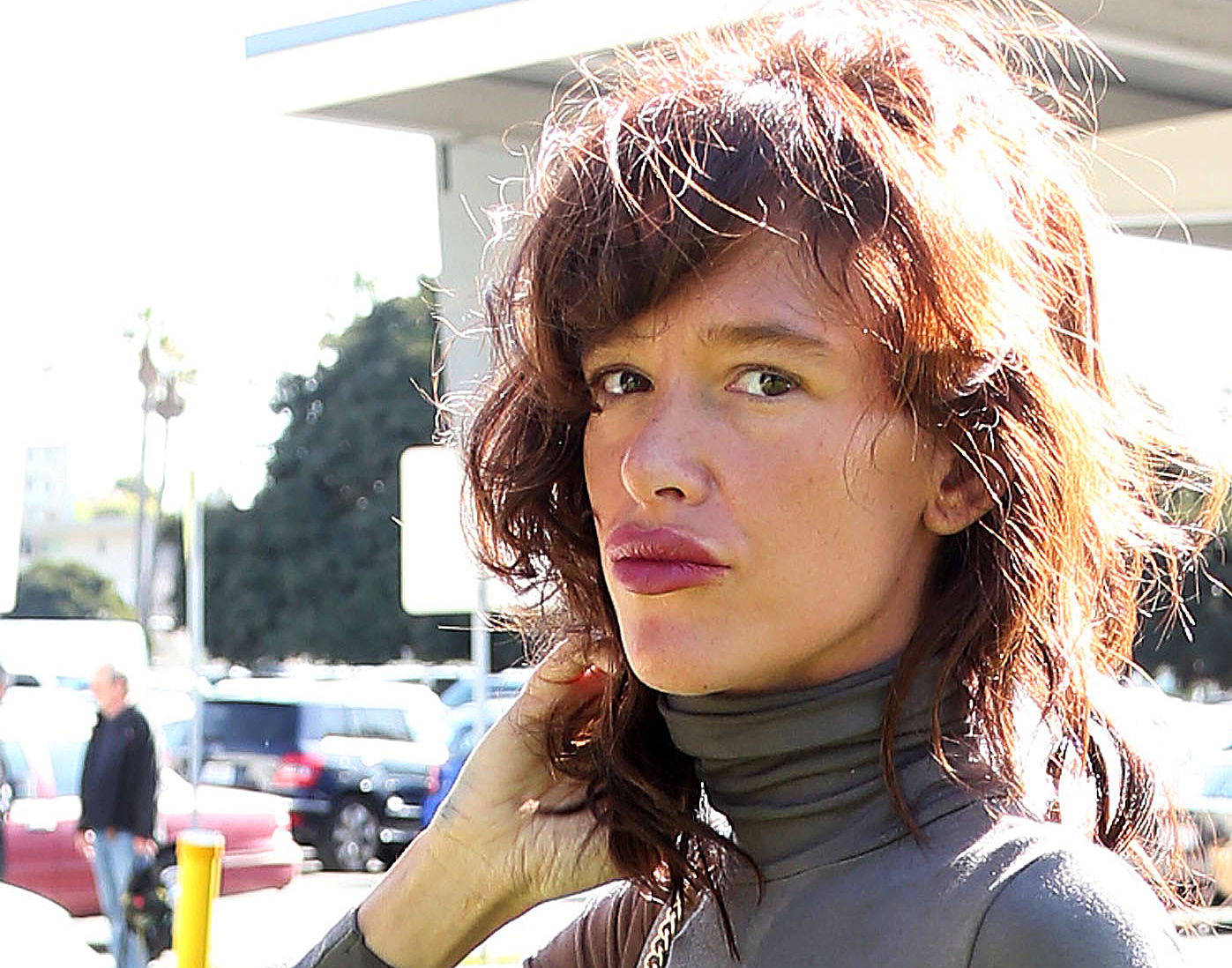 Actress Paz de la Huerta makes an appearance at the Santa Monica Courthouse on February 23, 2016 in Santa Monica, California. (Frederick M. Brown/Getty Images)