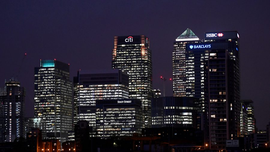 HSBC clears out London trading floor on virus scare