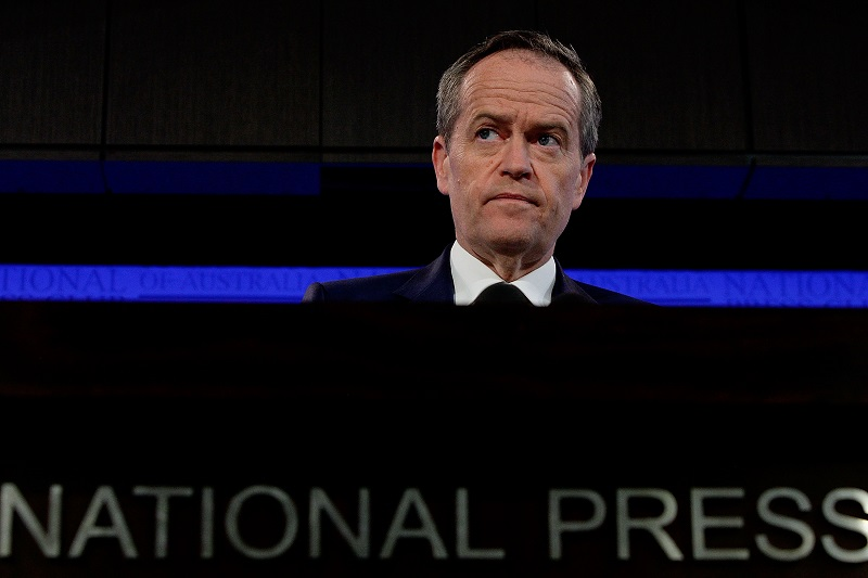 Bill Shorten Delivers 2016 Leader Of The Opposition Election Address