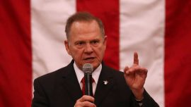 Roy Moore Officially Announces Run for Senate Seat Despite Trump Admonishment