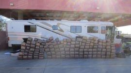 Man Arrested After Trying to Smuggle Motorhome Full of Marijuana into US