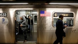 Man Arrested in Subway Attack Says Woman Threatened Him