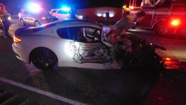 Video: Wrong-Way Maserati Driver in Utah Causes Head-On Collision