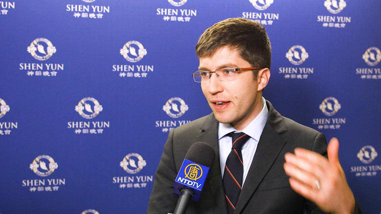 MP Praises Shen Yun's Spiritual Dimension, Rich Symbolism