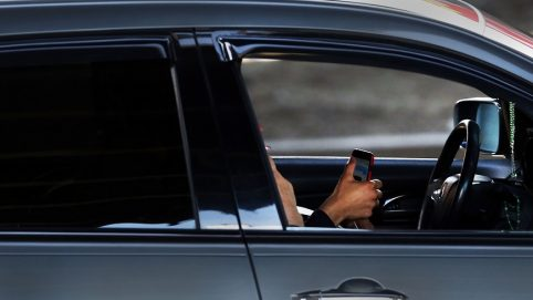 Police Pretend to Be Utility Workers to Bust Distracted Drivers