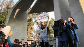Iranians Risk Their Lives Calling for End to Islamic Regime