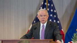Sessions: Trump Has Delivered on Promise to End 'American Carnage'