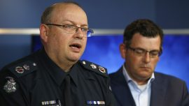Police Chief Rubbishes Claims Melbourne Isn't Safe