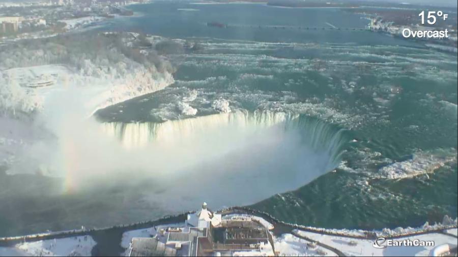 Niagara Falls Turns Into Must See Winter Wonderland