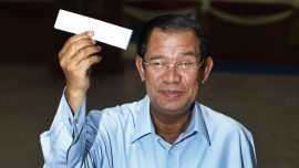 Cambodia's Ruling Party Claims Sweeping Win in Senate Vote