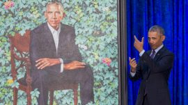 Barack Obama's Portrait May Have Been Made in China: Report