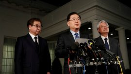 South Korea Says North Korea Willing to Talk to US About Denuclearization