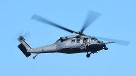 Crew Member Injured After US Air Force Helicopter Shot Over Virginia: FBI