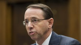 Rosenstein Denies Newspaper Report He Suggested Recording Trump