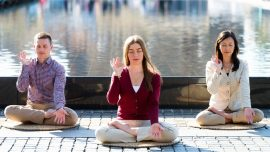 A Family Improves Together Through Meditation