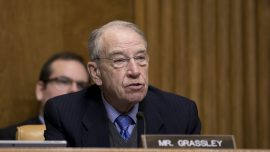 Grassley Explains Why He Doesn't Want to See Trump's Tax Returns