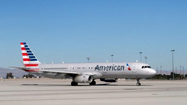 An American Airlines plane on the tarmac. (Rhona Wise/AFP/Getty Images)