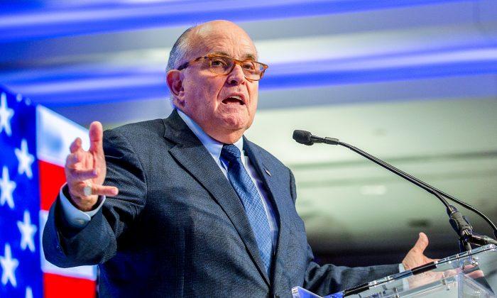 President Trump's Lawyer Giuliani Cancels Ukraine Trip