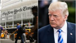 New York Times Issues Correction After Trump Slams It For False Reporting