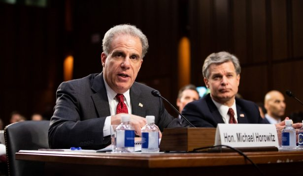 Inspector General Horowitz Submits Draft Report to DOJ, FBI on Alleged FISA Abuses