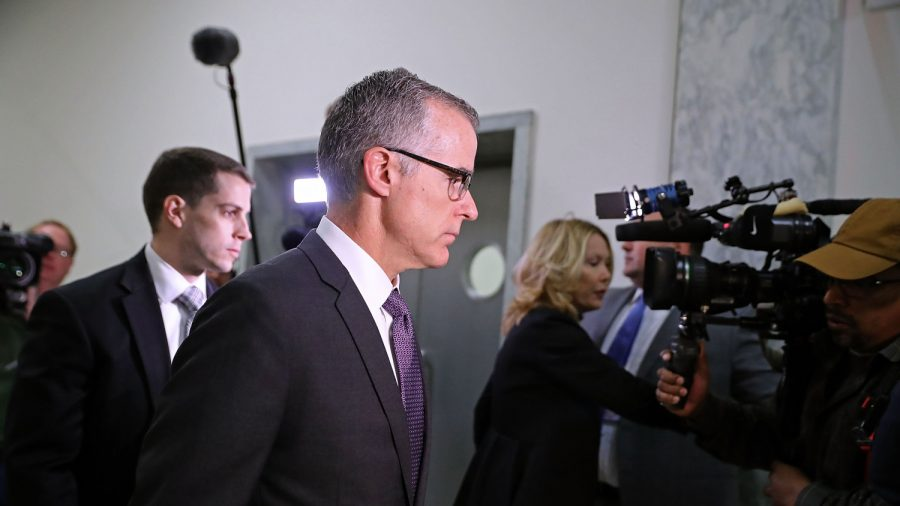 Andrew McCabe Faces Prospect of Indictment After DOJ Rejects Appeal