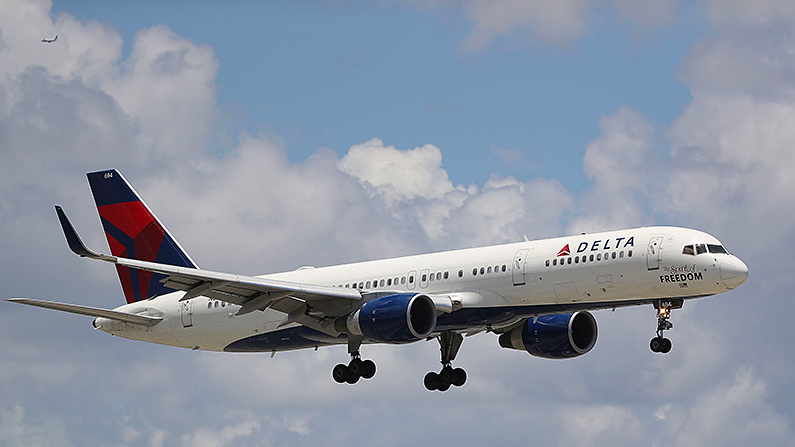Delta Passenger Becomes Suicidal, Attempts To Open Door Mid-Flight