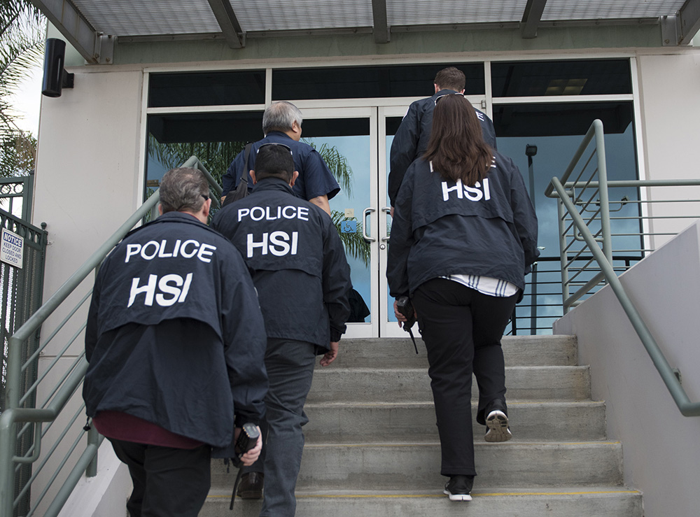 HSI agents dramatically increased audits, raids, and arrests between October 2017 and May 2018. (ICE.gov)