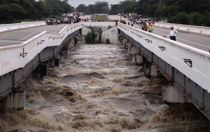 Dam Breach Floods Communities in Central Burma, Blocks Highway