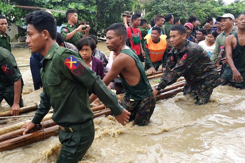 Dam Breach Floods Communities in Central Burma
