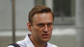 Russian Opposition Leader Navalny Detained in Moscow