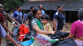 Floods Kill Over 70 People in India's Kerala State