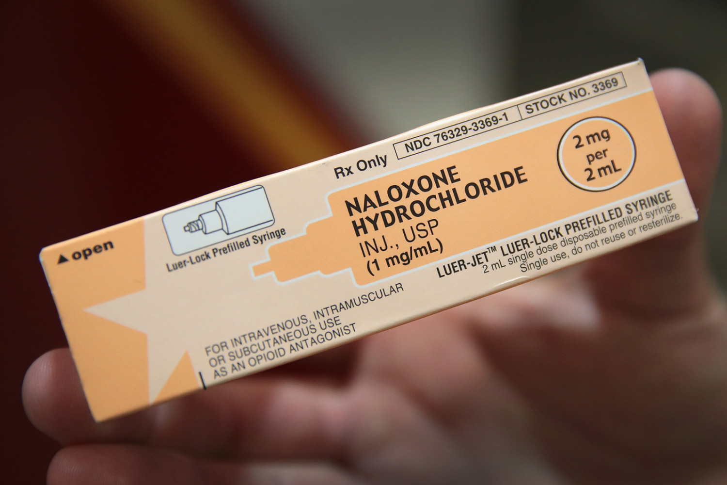 Narcan reverses the effects of opioid overdoses