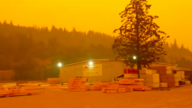 Large Parts of Canada Engulfed by Haze, More Than 560 Wildfires in British Columbia