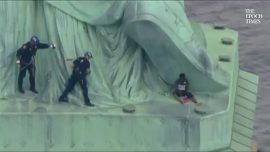 Woman Who Climbed Statue of Liberty as Act of Resistance Found Guilty
