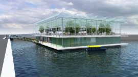 The World's First Floating Dairy Farm in Rotterdam