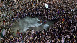 Romanian Expats Stage Huge Protest in Bucharest