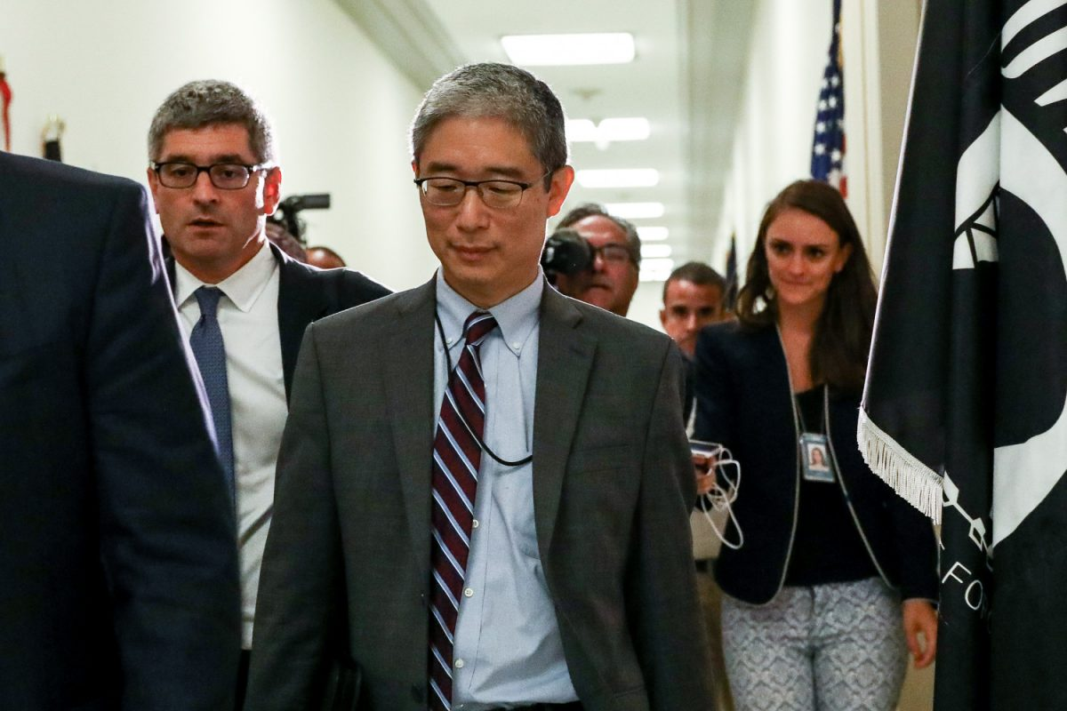 Department of Justice official Bruce Ohr