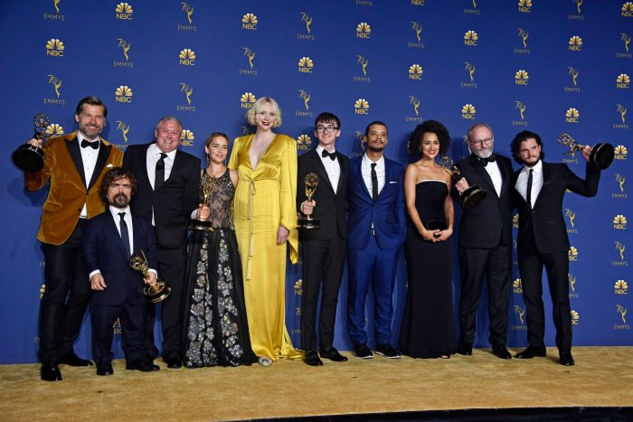 70th Emmy Awards - Press Room-Game of Thrones