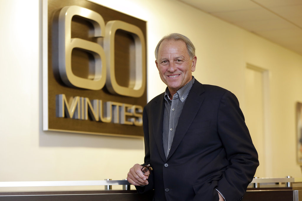 """60 Minutes"" Executive Producer Jeff Fager poses for a photo at the ""60 Minutes"" offices, in New York.In this Sept. 12, 2017. Fager, who was named in reports about tolerating an abusive workplace at CBS, stepped down on Sept. 12, 2018. (Richard Drew/AP)"